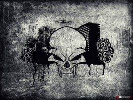 Evil Skull wallpapers and stock photos