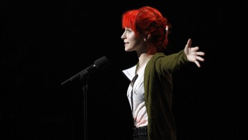 Hayley Williams on Stage wallpapers and stock photos