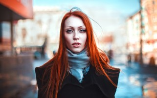 Gorgeous Redhead Natali wallpapers and stock photos