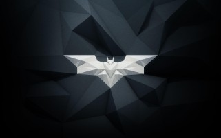 Modern Batman Logo wallpapers and stock photos