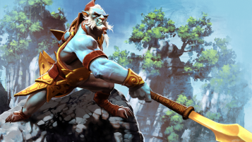 DotA 2 Phantom Lancer wallpapers and stock photos