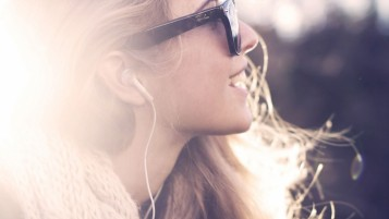 Hipster Girl Smiling wallpapers and stock photos