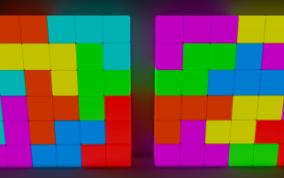 3D Tetris Blocks wallpapers and stock photos