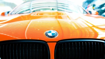 BMW M3 GTS Bonnet wallpapers and stock photos