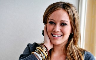 Hillary Duff Lächeln wallpapers and stock photos