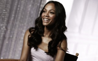 Zoe Saldana Smiling wallpapers and stock photos
