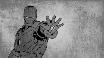 Iron Man Grunge Artwork wallpapers and stock photos