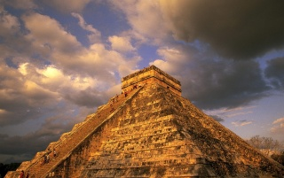 Ancient Mayan Ruins wallpapers and stock photos