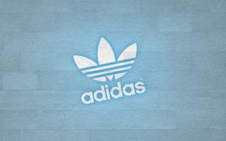 Adidas White Logo wallpapers and stock photos