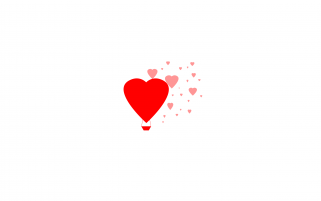 Simple Hearts Illustration wallpapers and stock photos