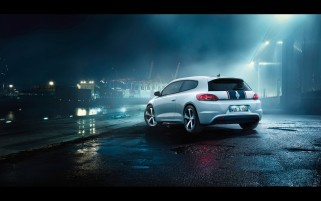 2012 Volkswagen Scirocco GTS Static hinten wallpapers and stock photos