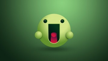 Green Smiley Face wallpapers and stock photos