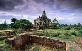 Bagan Myanmar wallpapers and stock photos