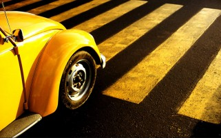 Weinlese VW Beetle Abschnitt wallpapers and stock photos