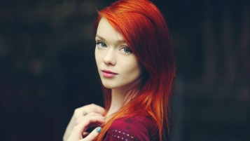 Beautiful Redhead Lass wallpapers and stock photos