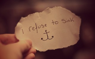 I Refuse To Sink wallpapers and stock photos