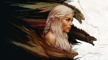 Game of Thrones Daenerys Targaryen Artwork wallpapers and stock photos