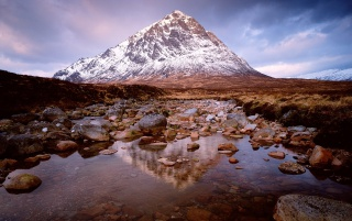 Bauchaille Etive Mor wallpapers and stock photos