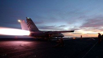 Plane Carrier Sunrise wallpapers and stock photos