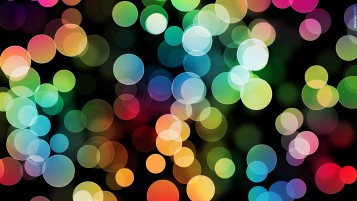 Bokeh multicolor circles wallpapers and stock photos