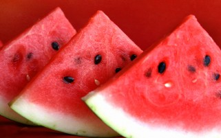 Slices of watermelon wallpapers and stock photos