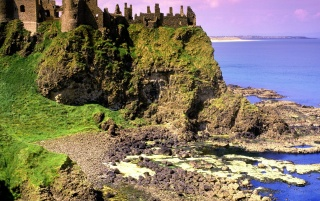 Dunluce Castle wallpapers and stock photos