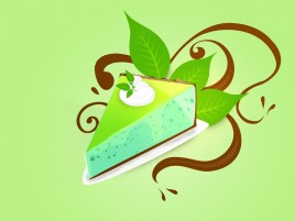 Mint Choco Pie wallpapers and stock photos
