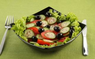 Greek Summery Salad wallpapers and stock photos