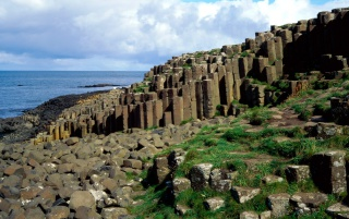 Giants Causeway wallpapers and stock photos