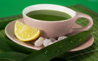 Green Leaves Tea wallpapers and stock photos