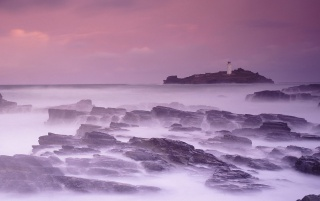 Godrevy Faro wallpapers and stock photos