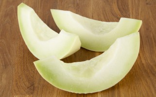 Green Melon Slices wallpapers and stock photos
