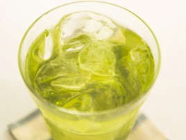 Ice Cold Green Drink wallpapers and stock photos