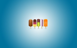 Icecreams colorate wallpapers and stock photos