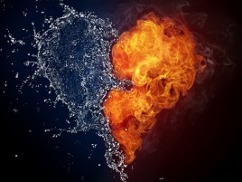 Explosiv Heart wallpapers and stock photos