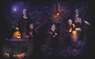 Addams Family wallpapers and stock photos