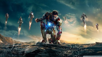Iron Man 3 vs mandarín wallpapers and stock photos