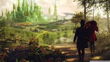 Oz The Great And Powerful Oscar Digss and Theodora wallpapers and stock photos