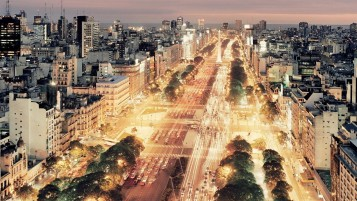 Buenos Aires At Night wallpapers and stock photos