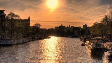 Previous: Amsterdam At Sunset