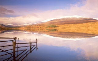 loch Tulla Argyl wallpapers and stock photos