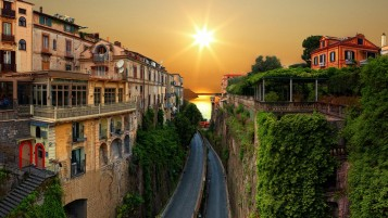 Sunrise In Italy wallpapers and stock photos