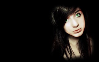 Dark Green Eyes wallpapers and stock photos