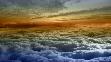 Colorful Clouds wallpapers and stock photos