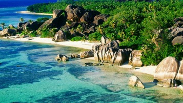 Anse Source D'Argent Beach wallpapers and stock photos