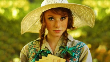 Redhead in Straw Hat wallpapers and stock photos