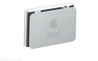 iPod Shuffle back wallpapers and stock photos