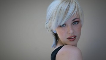 Grey Blonde Short Hair wallpapers and stock photos