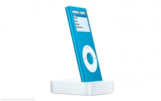 iPod Nano blue wallpapers and stock photos