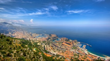 Monaco City Four wallpapers and stock photos